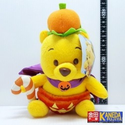 DISNEY Winnie The Pooh Halloween Baby Sweet Candy Cane King Plush Doll Toy