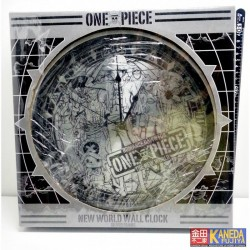 AUTHENTIC from JAPAN One Piece New World Wall Clock – Metal Silver Frame HIGH QUALITY & DISCONTINUED Item!!