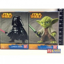 SW Star Wars FW Converge SET of Darth Vader & Yoda Figure Deformation style JAPAN Genuine Bandai バンダイ