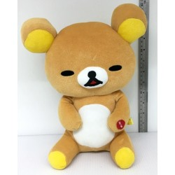 San-X Rilakkuma Relax Bear Blushing Plush Doll Toy 28cm Approx.