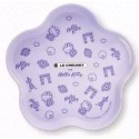 Hello Kitty x Le Creuset SUPER BIG Size TRAY Limited SANRIO OFFICIAL Taiwan 2018 – Flower Shape Purple ver.