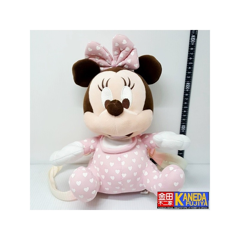 Disney Minnie Mouse Pink Baby Mini Bag Plush Doll Toy 25cm Approx