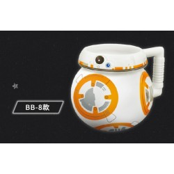 STAR WARS BIG 3D Color Mug Cup BB-8 Ver. With Non-slip handle - Limited Edition TAIWAN