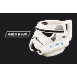STAR WARS BIG 3D Color Mug Cup Stormtrooper Ver. With Non-slip handle - Limited Edition TAIWAN