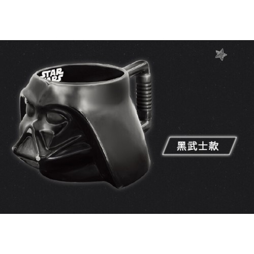 STAR WARS BIG 3D Color Mug Cup Darth Vader Ver. With Non-slip handle - Limited Edition TAIWAN