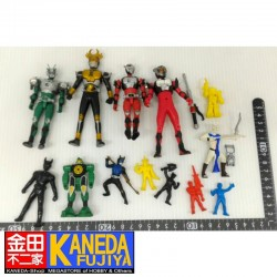 Special LOT! Kamen Masked Rider Vynil and Others SET of 13 Figures