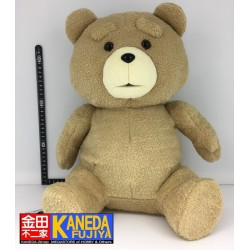 TED Movie Big Size Plush Doll Teddy Bear Stuffed Animal Official from Japan (H40cm approx. sitting)