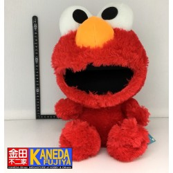 Sesame Street Elmo Puppet Plush Doll Cookie Monster Furyu Corporation Toy Japan (35cm approx.)