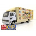 MTECH Hino Ranger Wing Truck Diecast Model Car Scale 1/43- Mae in JAPAN