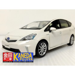 Toyota Prius Hybrid Diecast Model Car WHITE Ver. Scale 1/30