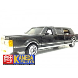 SunnySide SS9732 Lincoln Town Car Stretch Limousine BLACK Ver. Diecast Model Car