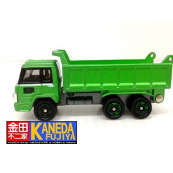 TOMY Tomica No. 52 Hino Truck 1989 GREEN Diecast Model Car Scale 1/102