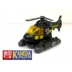 TOMY Tomica HR-08 Helicopter 01 Black