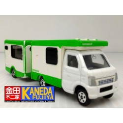 TOMY Tomica Suzuki Tentmushi Trailer Model Car - Tentomushi & Coro Collaboration