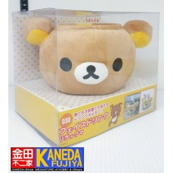 San-X Rilakkuma Face Drink Car Accesory Relax Bear Drink Holder Bottle Holder Pen Holder Original from Japan