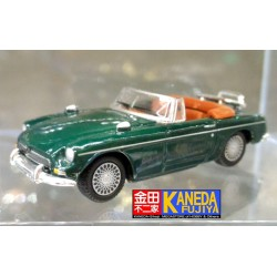Hongwell Convertible Green Mint MGB Cabriolet 1/72