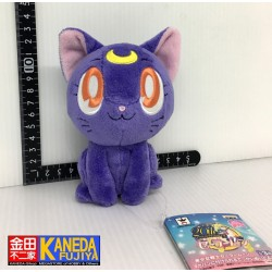 Sailor Moon Luna 20th Anniversary Plush Doll Keychain Mascot Rare BANPRESTO