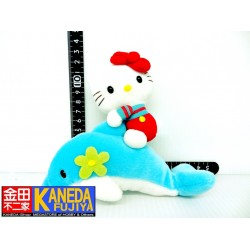 Hello Kitty Dolphin Ride Mini Plush