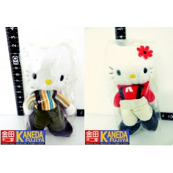 Hello Kitty & Dear Daniel Gardener Version Mascot Keychain