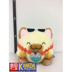 Maruneko Club Cat Tropical Plush Japan Amusement Game Toy