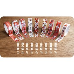 Hello Kitty Authentic Paper Tape Adhesive SANRIO Asia Seven Eleven Limited Edition