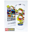 Sanrio Hello Kitty x DC Comic Thermos Tumbler 400ml Portable Cup SUPERGIRL WHITE Color Seven Eleven LIMITED