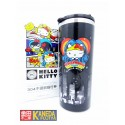 Sanrio Hello Kitty x DC Comic Thermos Tumbler 400ml Portable Cup WONDER WOMAN BLACK Color Seven Eleven LIMITED