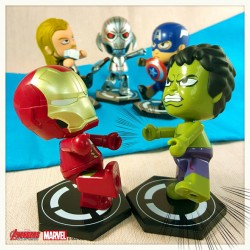 Family Mart Limited: MARVEL AVENGERS Age of Ultron Limited Edition Cosmi Mini Figure - Set of 5 Pieces