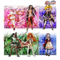 VOLKS Shin Koihime Musou M.O.E. Collection Trading Figure Set of 6 Pcs Original from JAPAN