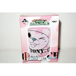 One Piece Tony Tony Chopper Pink Sakura Yunomi Cup Green Tea Ceramic Cup. Banpresto from Japan