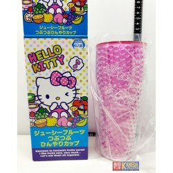 SANRIO Hello Kitty FRUITY Cup tumbler NEW AUTHENTIC Cute - Pink Color Version