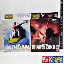 EXTENDED Mobile Suit in Action RX-8-2 Gundam & MS-06S Char Aznable Red Zaku MSiA MIA Figure SET