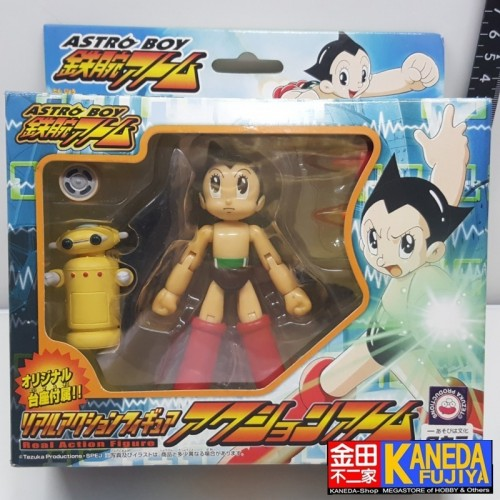 TAKARA Astro Boy Real Action Figure Atom & Nora with Changeable Parts and Stand