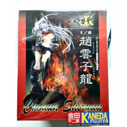 AIZU Ikki Tousen Chouun Shiryuu Closed Eyes Ver. 1/6 Scale Figure Xtreme Xecutor Cold Cast Series