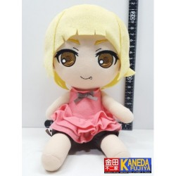 GIFT Monogatari Series Kiss Shot OSHINO SHINOBU Plush Doll Toy 20cm Approx Sitting Tall
