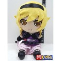 GIFT Monogatari Series Kiss Shot OSHINO SHINOBU Gothic Dress Ver. Plush Doll Toy 20cm Approx Sitting Tall