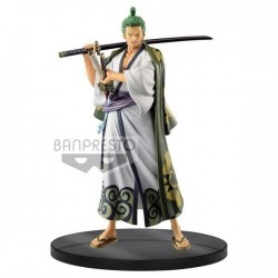 One Piece DXF The Grandline Men Vol. 2 Wano Country RORONOA ZORO Wano Kuni Figure by BANPRESTO