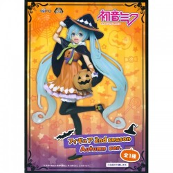 Hatsune Miku 2nd Season Autumn Halloween Vocaloid Witch Costume Figure by Taito ORIGINAL JAPAN