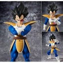 Dragon Ball Z S.H. Figuarts Vegeta 2.0 Scouter Saiyan Action Figure by Tamashii Nations BANDAI