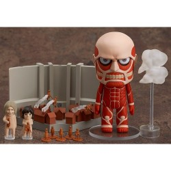 Attack on Titan Colossal Titan Shingeki no Kyojin Playset Nendoroid 360 Figure by Good Smile Company