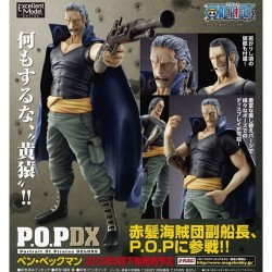 MegaHouse One Piece Benn Beckman POP DX Portrait of Pirates Deluxe Excellent Model Figure