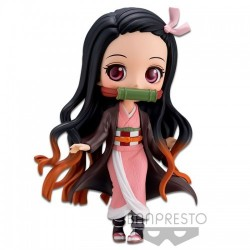 BANDAI SPIRITS Q Posket Demon Slayer Kimetsu no Yaiba Kamado Nezuko Normal Color Ver. Figure Banpresto