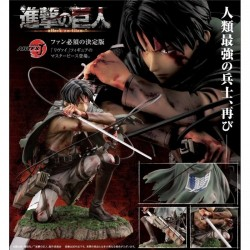 Attack on Titan ARTFX J Levi Ackerman Fortitude Ver. 1/7 Scale PVC Figure by Kotobukiya