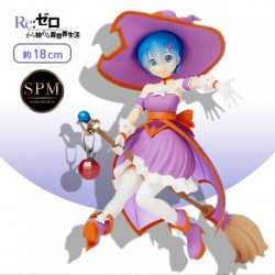 Re:Zero Starting Life in Another World REM Super Premium Figure SPM Magical Witch Girl Operation Halloween Ver. SEGA