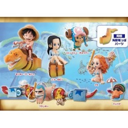 One Piece World Collectable Figure WCF Ryugu Kingdom Vol. 1 by Banpresto Set of 6 Pieces