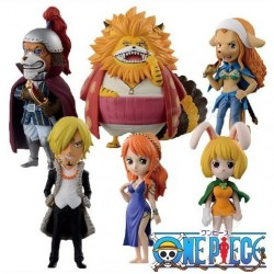 One Piece World Collectable Figure WCF Zou Chapter by Banpresto Set of 6 Pieces