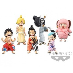 One Piece World Collectable Figure WCF Wano Country Wanokuni Vol. 3 by BANPRESTO Set of 6 Pieces