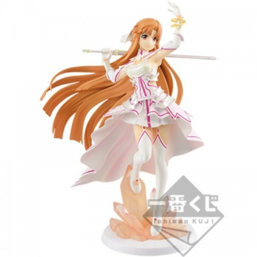 BANPRESTO Ichiban Kuji Sword Art Online Alicization War of Underworld ASUNA Goddess of Creation Stacia Bandai Figure